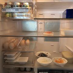 冷蔵庫/スッキリ暮らす/ミニマリスト/断捨離 今朝の冷蔵庫  すぐ食べてしまいたい、お…