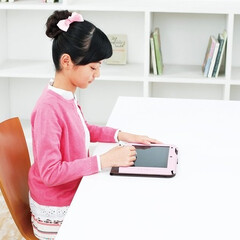 自宅学習/自主学習/通信教育/スマイルゼミ/子ども/タブレット/... ダイニング学習は、夕食前に教材やノート、…