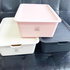雑貨/生活雑貨/収納雑貨/収納/収納ボックス/収納コンテナ/... こちらのボックスは、落ち着いたくすみカラ…