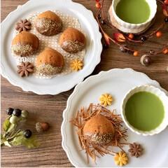 マロンケーキ/手作りお菓子/秋/スイーツ マロンケーキを焼きました🌰🍁🍁 栗の渋皮…
