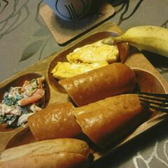 お姉ちゃんの卵焼き/朝ごはん/おはようございます おはようございます☺  今日の朝ごはん☕…