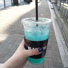 ブルー/レモネード/ドリンク/ドリンクボトル/飲み物/フォロー大歓迎/... わあああ!! ブルーレモネード🍋
