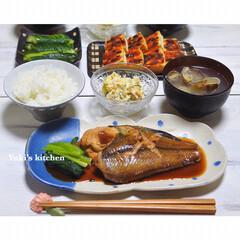 魚料理/Dinner/ディナー/夕食タイム/夕食おかず/夕食/... * *  ✼*ʜᵅᵖᵖᵞ ᒻᵒᵛᵉ¨̮ …