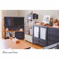 生活/小さな住まい/小さな暮らし/団地/公団住宅/ふたり暮らしのインテリア/... * 新しい家具で 少しスッキリした我が家…