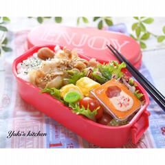 お昼ごはん/昼食/lunchtime/lunchbox/lunch/ランチタイム/... ・ 今日のおべん𐂐.·˖* ・ 昨夜の肉…