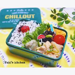 お弁当作り/お弁当のおかず/お弁当箱/お弁当おかず/おべんとう/lunchtime/... ・ 今日のおべん𐂐.·˖* ・ サラリー…