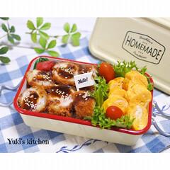 お弁当箱 1段 麺 丼 ミコノス タイトランチ1段 | mykonos(弁当箱)を使ったクチコミ「・ 今日のおべん𐂐.·˖* ・ ・ デパ…」