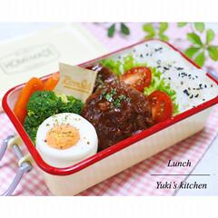 お弁当箱 1段 麺 丼 ミコノス タイトランチ1段 | mykonos(弁当箱)を使ったクチコミ「・ 今日のおべん𐂐.·˖* ・ 今日は …」
