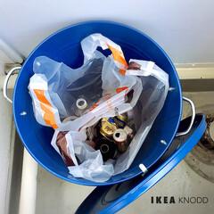 スタイリッシュ/インテリア/IKEA/KNODD/ゴミ箱/ごみ箱/... * わたくし、この度 長年使いました ベ…(2枚目)