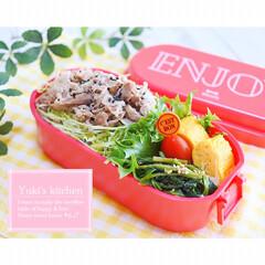 lunchtime/lunchbox/lunch/ランチタイム/ランチボックス/ランチ/... ・ 今日のおべん𐂐.·˖* ・ 豚肉ドー…