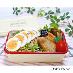 お弁当箱 1段 麺 丼 ミコノス タイトランチ1段 | mykonos(弁当箱)を使ったクチコミ「・ 今日のおべん𐂐.·˖* ・ 和風ピラ…」