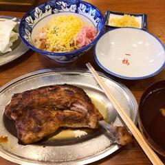 一鶴/お外ごはん/外食/Dinner/夕飯風景/夕飯/... * 香川県 最終日の夕食.·˖*✩⡱ *…