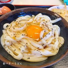 女子旅/お外ごはん/朝ごはん/朝食/香川県高松市/香川県/... * 香川での朝。 朝ごはんに うどんを食…