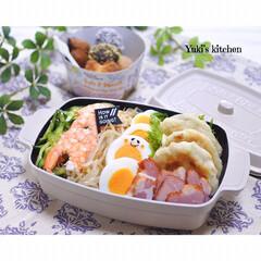 lunchbox/lunch/ランチボックス/ランチ/お弁当作り/お弁当のおかず/... ・ 今日のおべん𐂐.·˖* ・ 冷やし中…