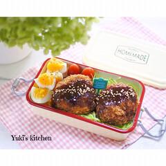 お弁当箱 1段 麺 丼 ミコノス タイトランチ1段 | mykonos(弁当箱)を使ったクチコミ「・ 今日のおべん𐂐.·˖* ・ キャベツ…」(1枚目)