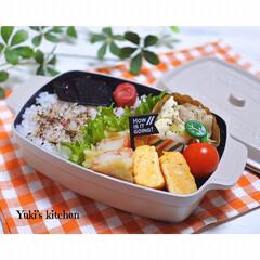 料理/ランチ/ランチボックス/お昼ごはん/お弁当/旦那弁当/... ・ 今日のおべん𐂐.·˖* ・  塩麻…