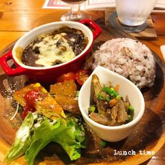 料理/お外ごはん/お昼ごはん/昼食/lunchtime/lunch/... * 今日と明日は お弁当お休みです◡̈*…