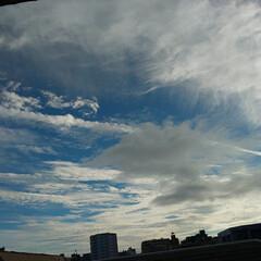 雲の写真/風景写真/そら 何となくパシャリ! Σpω・´)  夕…