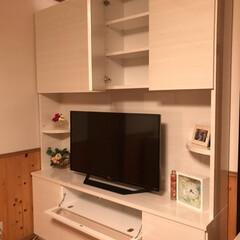 インテリア/DIY/家具/住まい/収納/ハンドメイド/... 初めての投稿です🐡 第1弾は家のテレビ台…(2枚目)