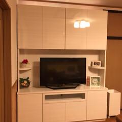 インテリア/DIY/家具/住まい/収納/ハンドメイド/... 初めての投稿です🐡 第1弾は家のテレビ台…