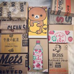 段ボールリメイク/段ボール/リメイク/フォロー大歓迎/ハンドメイド/DIY お財布ご購入のお客様には、お好みの箱を選…