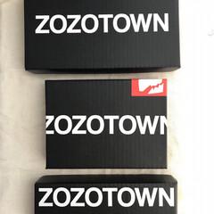 段ボールリメイク/段ボール/リメイク/ZOZOTOWN/フォロー大歓迎/ハンドメイド/... ZOZOの段ボールもリメイク📦