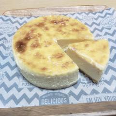 しっとり/混ぜるだけ簡単/こんがり/ニューヨークチーズケーキ/こんがりグルメ ニューヨークチーズケーキ 材料を混ぜるだ…