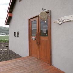 コンバージョン/外断熱/納屋/塗り壁/フォロー大歓迎/おでかけ/... 富良野にて古い納屋をコンバージョン ブー…