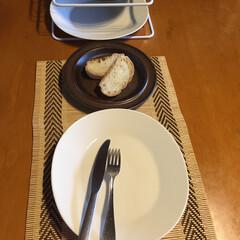 食器/ディシュラック/カトラリー/ランチマット わが家で、一番のお気に入りのお皿。 毎日…