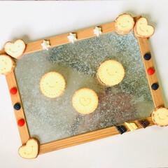 キッチン雑貨/クッキー/マグネットボード/スイーツデコ/マグネット/収納/... 可愛らしいマグネットボードとマグネットを…