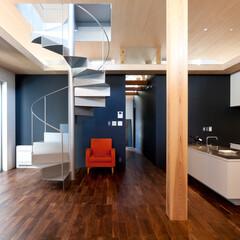 建築/住まい/リビング/おしゃれなリビングフォト投稿キャンペーン/ハウスデポジャパン/ラシエホームデザイン/... ホームパーティの際や、多人数での料理にも…