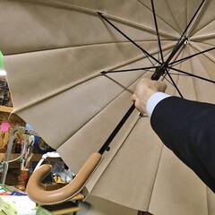 革の傘/革/傘/レザークラフト/ハンドメイド/雑貨/... #レザークラフト#ハンドメイド#革細工#…