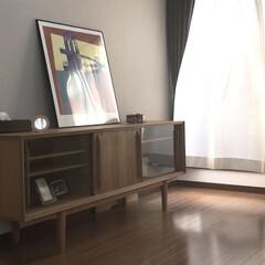 サイドボード/インテリア/家具/住まい 以前までテレビボードとして活躍していたサ…