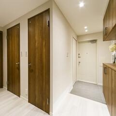 玄関/土間/玄関収納 玄関収納は土間と分けると広々とした空間に…