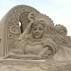 砂像/お祭り/海 楽しみにしてたサンドクラフトですが、コロ…