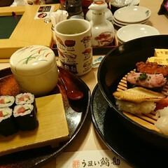 初体験/回転寿司/おでかけ 港の回転寿司に入ってみました。 全席個室…