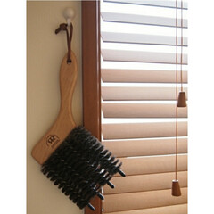 REDECKER レデッカーブラインドブラシ- Blind Brush -(掃除用ブラシ)を使ったクチコミ「ブラインド掃除にはレデッカーのブラインド…」