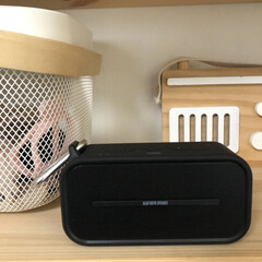 音楽のある暮らし/Bluetooth/ワイヤレススピーカー/スピーカー/雑貨/住まい/... 家の中で過ごす時間が増えましたね。コンパ…