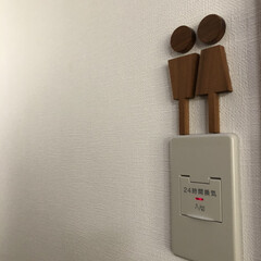 おすすめアイテム/お手洗い/トイレ/トイレサイン/雑貨/インテリア お気に入りのトイレサインです✨木で温かみ…