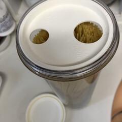 BONOXメジャーカップ/ジャグ 250ml | ダルトン(計量カップ)を使ったクチコミ「お気に入りのパスタケース、蓋を開けると1…」