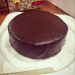 手作り/チョコレートケーキ/ザッハトルテ/バレンタイン/チョコレート/おうちごはんクラブ/... バレンタインにザッハトルテを初めて作りま…