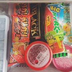 おやつ/ガリガリくん/アイスクリーム/アイス/令和元年フォト投稿キャンペーン/令和の一枚/... 同居人がアイス大好きで、冷凍庫のこの状態…