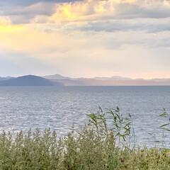 秋/湖/お出かけ/サンゴ草/サロマ湖/花/... 昨日は、日本で3番目に大きなサロマ湖を散…(9枚目)