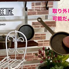 マステ/インテリア/ワイヤークラフト/DIY/ダイソー/セリア/... 💕snow's cafe💕open😊❣️…(4枚目)
