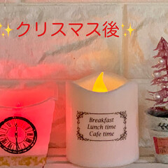レインボーキャンドル/転写シート/パール/ツリー/キャンドル/クリスマス/... ✨🎄Merry Christmas🎄✨ …(4枚目)