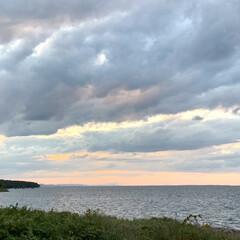 秋/湖/お出かけ/サンゴ草/サロマ湖/花/... 昨日は、日本で3番目に大きなサロマ湖を散…(10枚目)