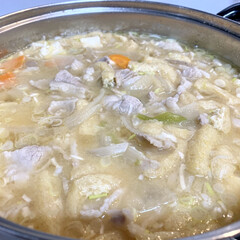 晩ご飯/豚汁/海鮮丼/おうちごはん/節約/簡単/... 🍚昨日の晩ご飯🍚  海鮮丼っ😆❣️ スー…(3枚目)