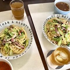 レンジ調理/レンチン/春野菜/ペペロンチーノ/パスタ/おうちごはん/... 🍴ベーコンと春野菜のペペロンチーノ🍴  …(4枚目)