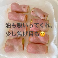 アスパラベーコン/便利/チーズちくわ/レンチン/お弁当作り置き/冷凍/... 昨日、冷凍したものたちです😊‼️  ●小…(6枚目)