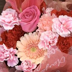 ひな祭り/ピンク/アレンジメント 雛祭り用のアレンジメントを見かけて、とて…